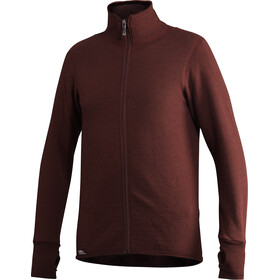 Woolpower 400 Full-Zip Jacke rust red